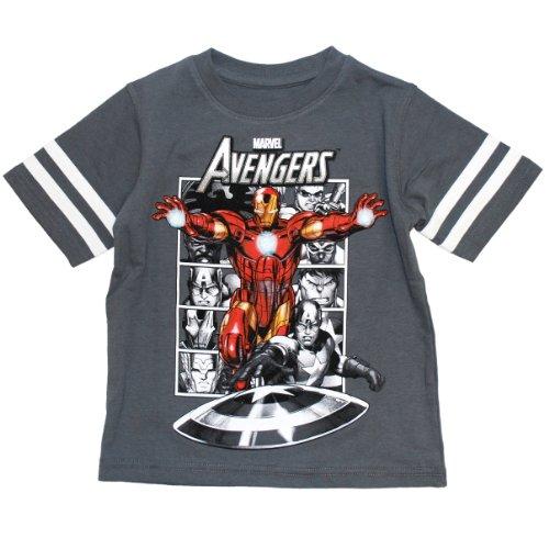 Marvel Little Boys' Avengers T-shirt (7)