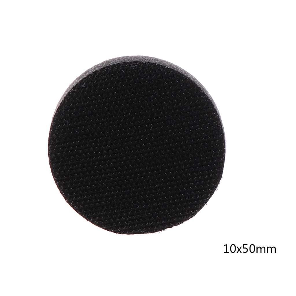 accesorios de herramientas el/éctricas Almohadillas de lija con interfaz de esponja suave almohadillas de lijado con gancho y bucle para pulir superficies irregulares