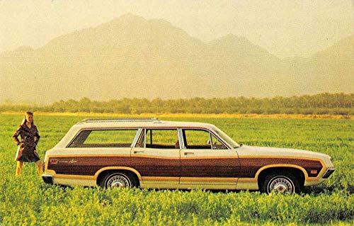 High Spire Pennsylvania 1970 Torino Squire Car Advertising Postcard JE228994