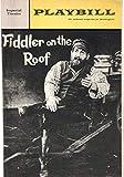 Playbill, Imperial Theatre: Fiddler on the Roof, Volume 3, Number 8, August 1966 (Paul Lipson/Herschel Bernardi, Maria Karnilova)