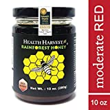 Tualang Red Honey 10 oz | Moderate Choice for Adult & Teenage Health Maintenance | Year-round Wild Harvested from Sumatra Tropical Rainforest | Raw, Unpasteurized, Unfiltered | Award-Winning