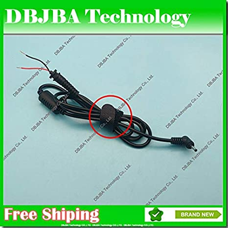 Cable Length: AS Photo Show ShineBear DC 3.0 x 1.1 3.01.1mm Power Supply Plug Connector with Cord//Cable for Samsung for Asus Charger Ultrabook Adapter