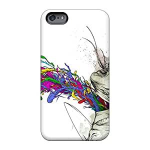Durable Hard Cell-phone Cases For Apple Iphone 6 (ORC27048JHwS) Support Personal Customs Stylish Alex Pardee Series