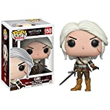 Ciri: Funko POP! Games x Witcher Vinyl Figure + 1 FREE Video Games Themed Trading Card Bundle (12133)