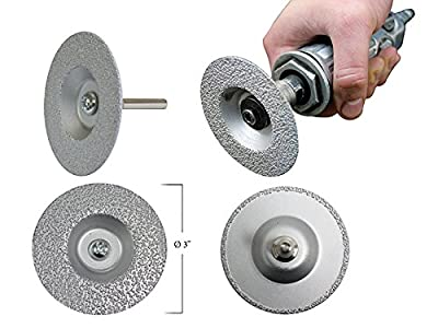 IPA 3-in-1 Diamond Grinding Wheel 3 Inch Diameter