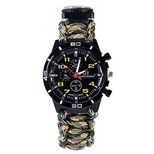 Leezo Waterproof Survival Paracord Bracelet product image