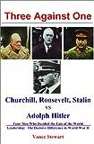 Three Against One: Churchill, Roosevelt, Stalin Vs. Adolph Hitler