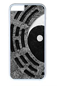 Ancient Yin Yang11 Polycarbonate Hard Case Cover For Apple Iphone 6 Plus 5.5 Inch White