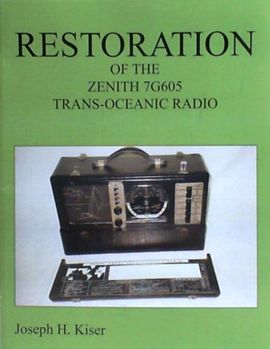 Restoration of the Zenith7G605 Trans-Oceanic Radio (Radio Oceanic Trans)