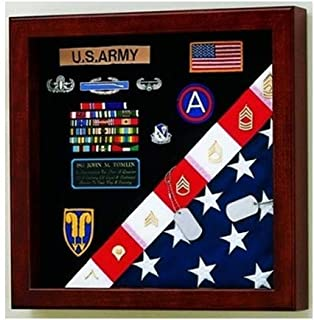 product image for American Made Burial Flag Medals Display case, 4' x 6'