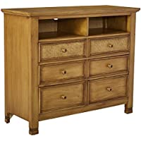 Progressive Furniture Kingston Isle II Media Chest, Sand