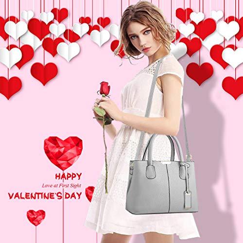 COCIFER Women Top Handle Satchel Handbags Shoulder Bag Tote Purse Messenger Bags