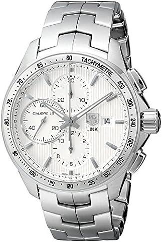 TAG Heuer Men's CAT2011.BA0952 Link Chronograph Watch (Bezel Tag Heuer)