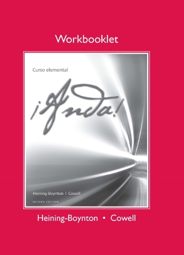 Workbooklet for ¡Anda! Curso elemental