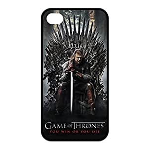 GAME OF THRONES You Win or You Die Stark Winter Hard Plastic Case for iPhone 5 5s case