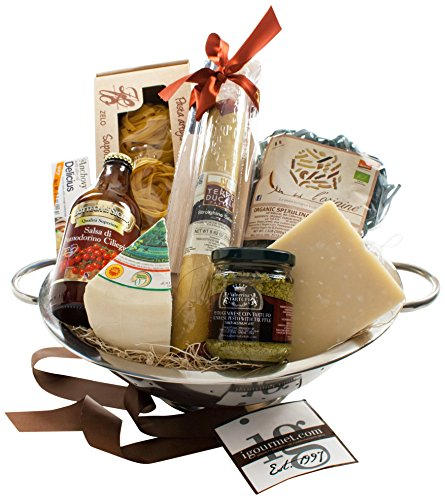 KaBloom Gift Basket Collection: The Italian Chef Gift Colander by KaBloom