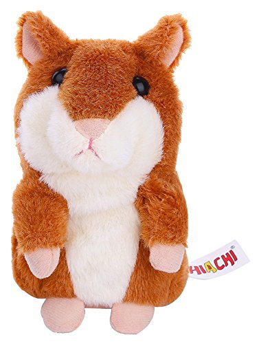The Original Talking Hamster -Plush Interactive Toys Mimicry Pet Repeats What You Say New Pet Hamster