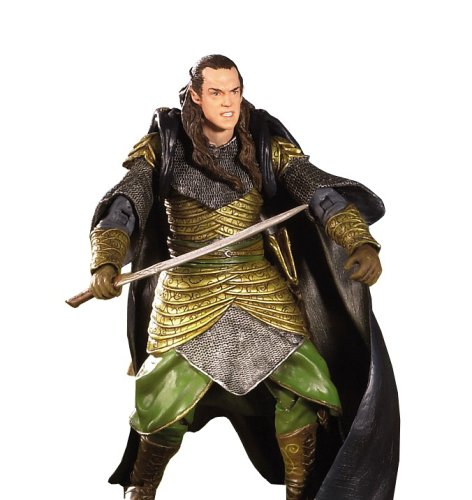 (Toybiz Prologue Elrond Lord Of The Rings Trilogy Action Figure)