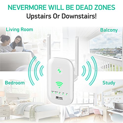 Newest 2018 WiFi Extender Internet Booster Signal Extenders
