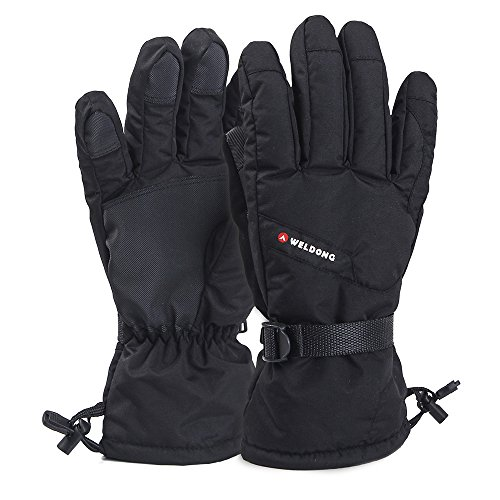 Brighton Ski (O'Brighton Waterproof Windproof Men's Winter Thinsulate Thermal Warm Snow Skiing Snowboarding Snowmobile Ski Gloves, X-Large)