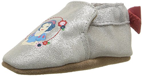 Robeez Girls' Disney Minnie Dots-K Slip-On, Snow White Light Ivory, 18-24 Months M US Infant