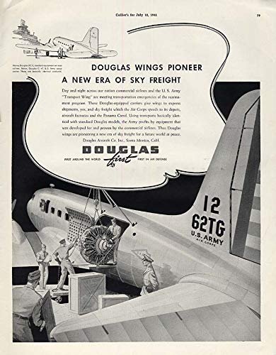 douglas wings pioneer a new era of