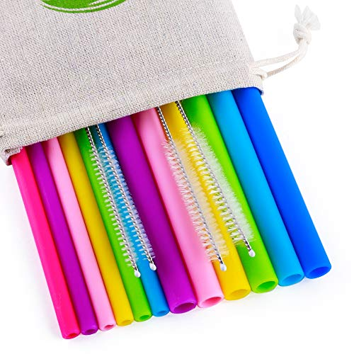 Reusable Straws 6Pcs 10