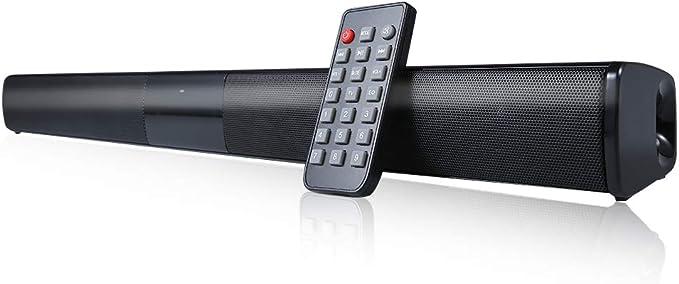 Docooler Barra de Sonido para televisores,Luxus inalámbrico BT 4.0 Altavoz SoundBar TV de Cine en casa 3D de Bass televisor de subwoofer con RCA Line – Mando a Distancia: Amazon.es: Electrónica