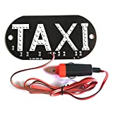 Car Windscreen Windshield Taxi Cab Sign LED Light Lamp Bulb with Suction Disc Cigarette lighter 12V