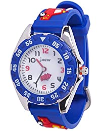 Kids Watch, 3D Cute Cartoon Waterproof Silicone Watch for...