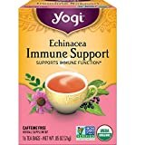 Yogi Tea - Echinacea Immune Support (6 Pack) - Supports Immune Function - 96 Tea Bags Total