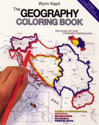 The Geography Coloring Book 2nd Edition