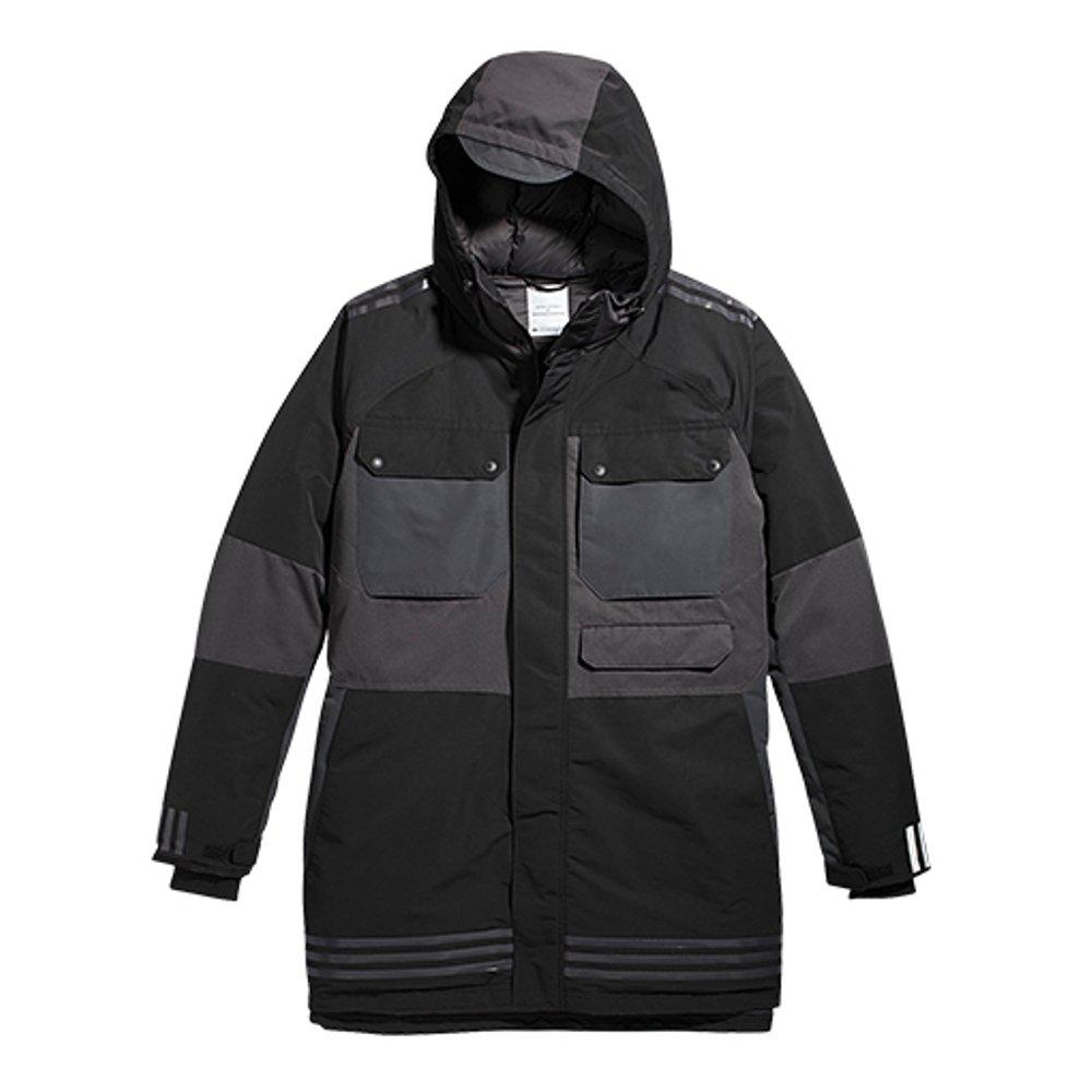 Adidas Originalsメンズホワイト登山ダウンジャケットay3127