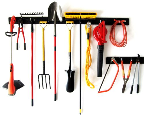 WallPeg Garden Tool Holder & Pegboard Tool Storage AM 242+044B-3 by WallPeg (Image #3)