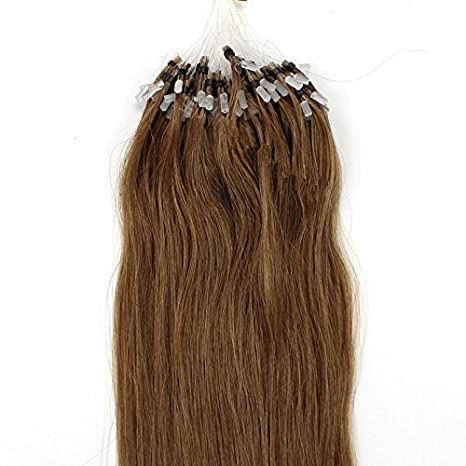 Amazon 100s 16 18 20 22 24 26 loops micro rings amazon 100s 16 18 20 22 24 26 loops micro rings beads tipped remy human hair extensions straight 10 colors in women beauty style 20inch pmusecretfo Images