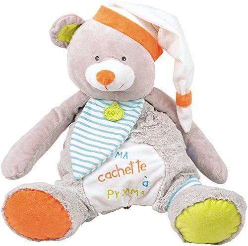 Baby grey 'pyjama bear the Oscar bag Nat ZqwZAarxT