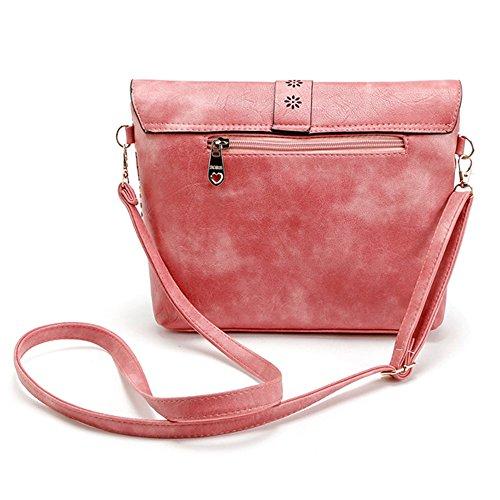 DukeTea Print Womens Multicolored Flap with Purse amp; Crossbody Top Medium Bag Brown awaxq6rp