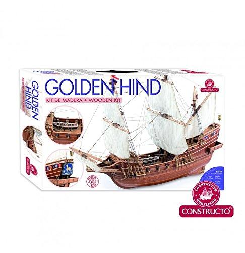 Amazon.com: dorado Hind – Kit de modelo de barco por ...