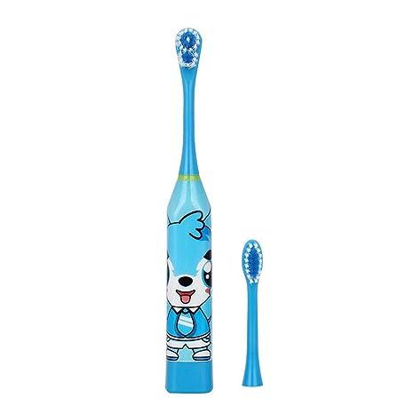 Cepillo de dientes eléctrico a prueba de agua para niños Cepillo de dientes eléctrico a prueba