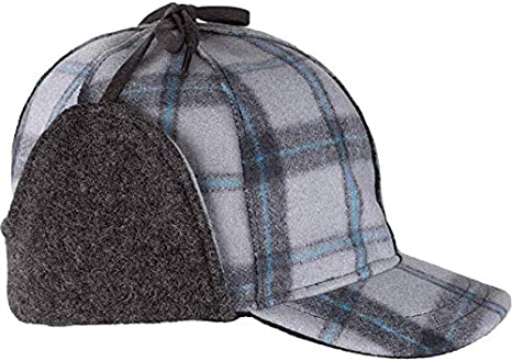 Insulated Wool Winter Hat with Ear Flaps Stormy Kromer Snowdrift Cap