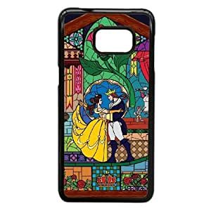Durable Phone Case Samsung Galaxy Note 5 Edge Cell Phone Case Black Ftcjf Beauty and the Beast Plastic Durable Cover