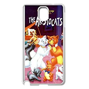 Samsung Galaxy Note 3 Cell Phone Case Covers White AristoCats Phone Case For Girls Plastic XPDSUNTR24306
