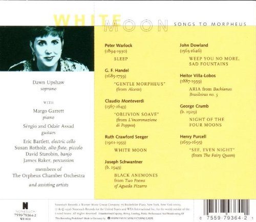 White Moon: Songs To Morpheus - Dawn Upshaw