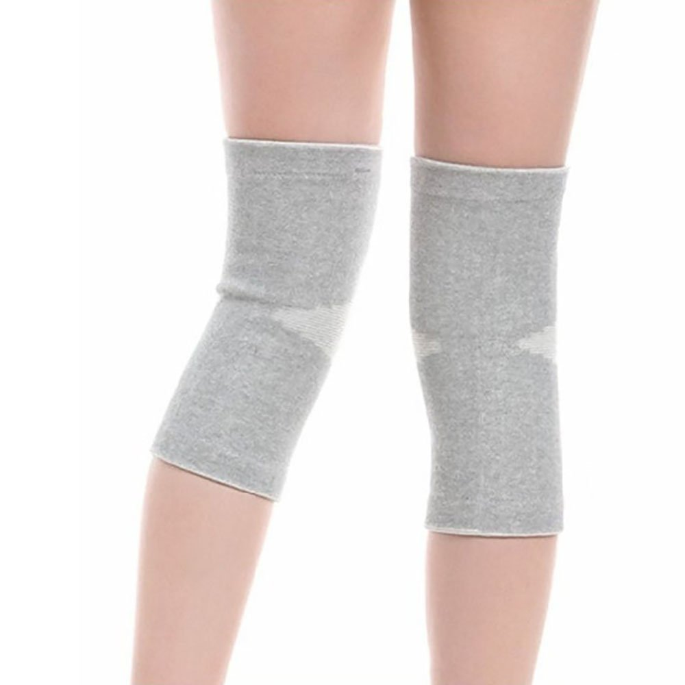431ec044be Enshey 1 Pair Knee Sleeve Bamboo Carbon Fiber Protector Compression Tendon Knee  Brace Support Knee for