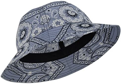 Red DECKY Paisley Bucket Hat