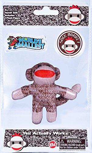 World's Smallest Sock Monkey -