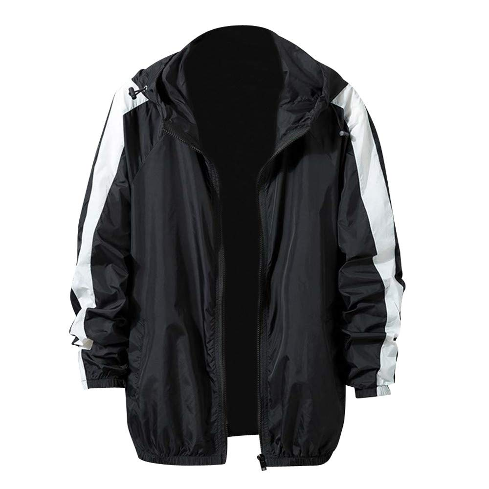 Pandaie-Mens Product OUTERWEAR メンズ X-Large ブラック B07K87M9Y8, ピアス専門店 ZOLCH 74cc5884