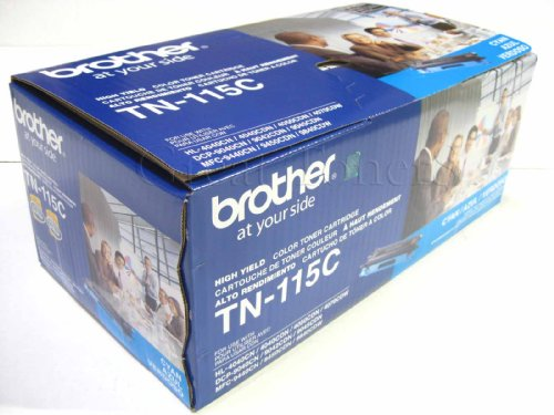 GTS Value Combo: Brother Brand New Genuine OEM TN115 Cyan Toner Cartridge, Fa...