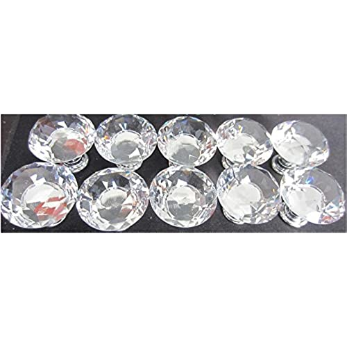 Crystal Kitchen Cabinet Knobs LeBeila Unique Crystal Cabinet Knobs And  Pulls, Diamond Shape Decorative Knobs For Interior Doors, Kitchen  Cupboards, ...