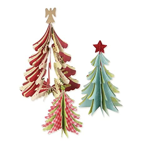 sizzix bigz die christmas trees 3 d - Amazon Christmas Trees